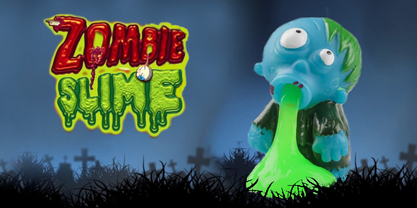 zombie slime halloween mobil carousel